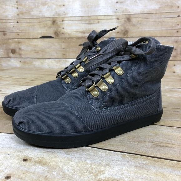 9a693d7e78f Toms Botas Highlands Faux Shearling Chukka Boots. M 5c4d2de8619745262dda85c5